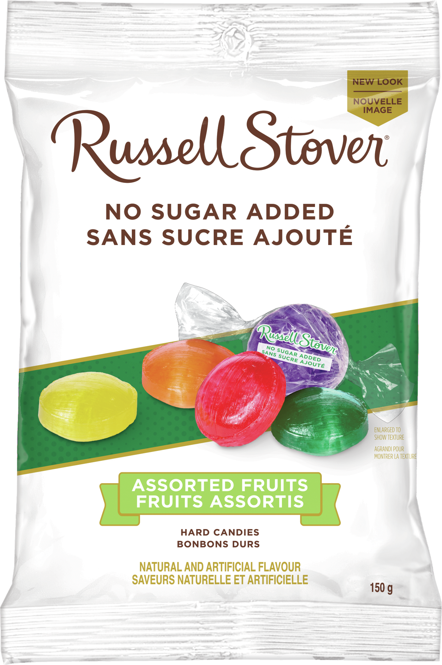 RUSSELL STOVER NSA ASSORTED FRUITS 150G