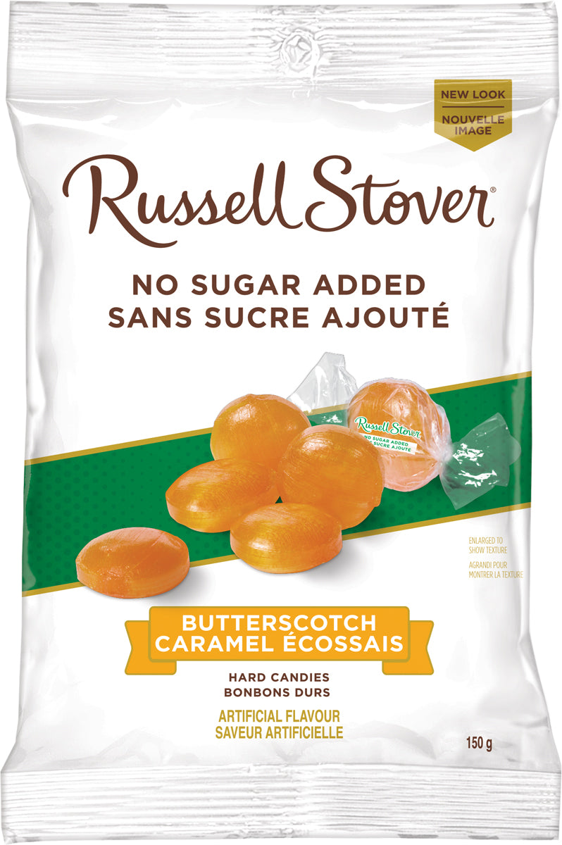 RUSSELL STOVER NSA BUTTERSCOTCH 150G