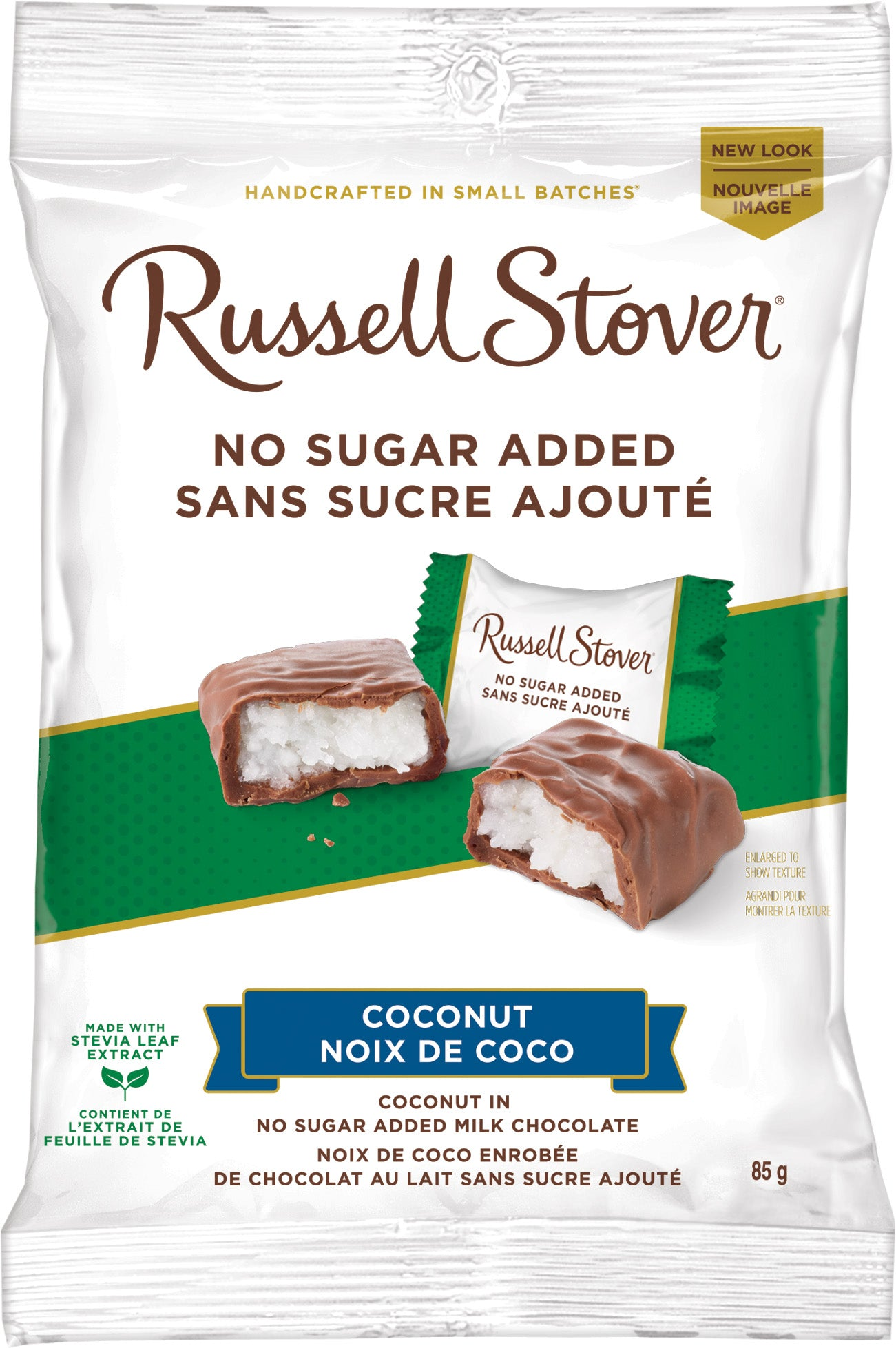 RUSSELL STOVER NSA COCONUT 85G