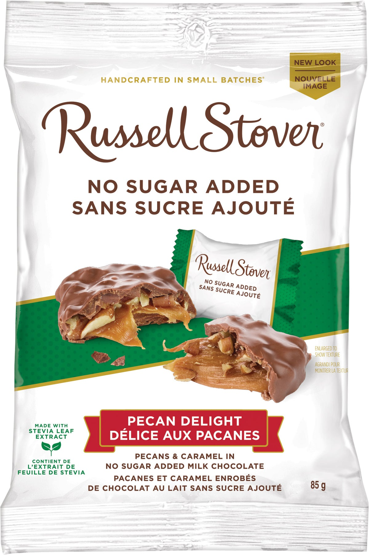 RUSSELL STOVER NSA PECAN DELIGHT 85G