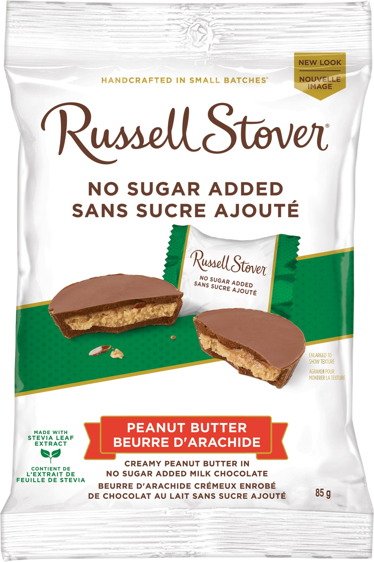 RUSSELL STOVER NSA PEANUT BUTTER CUPS 85G