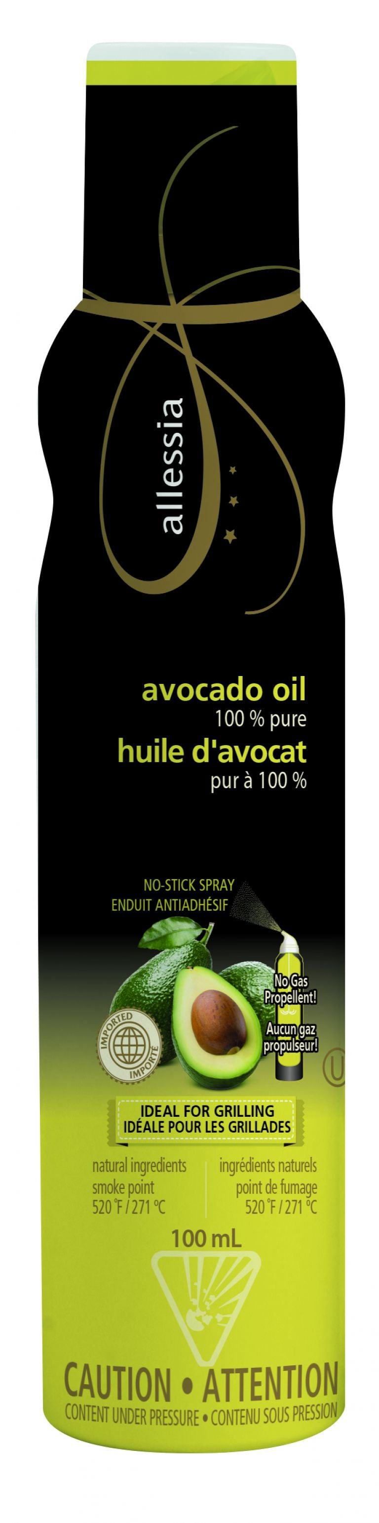 ALLESSIA SPRAY AVOCADO OIL 100ML