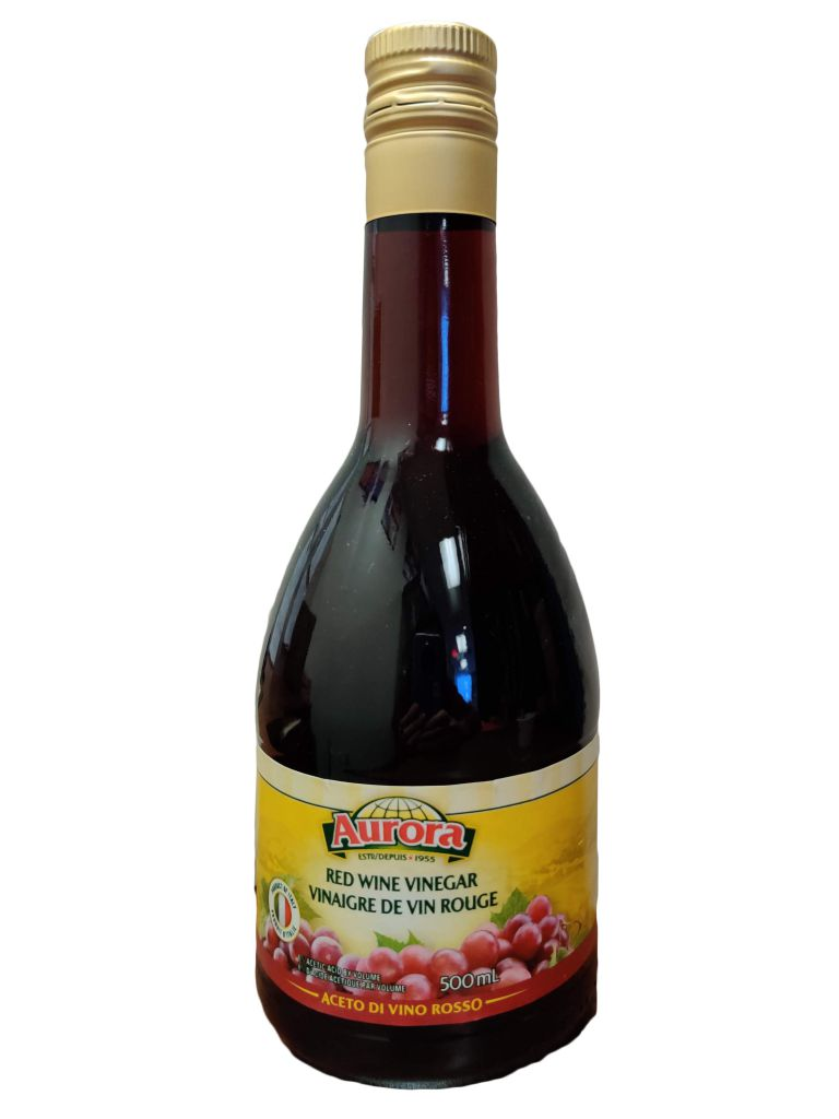 AURORA WINE VINEGAR RED 500ML