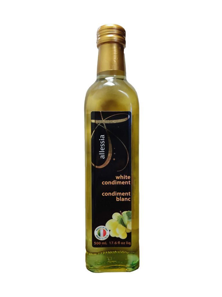 ALLESSIA WHITE CONDIMENT 500ML
