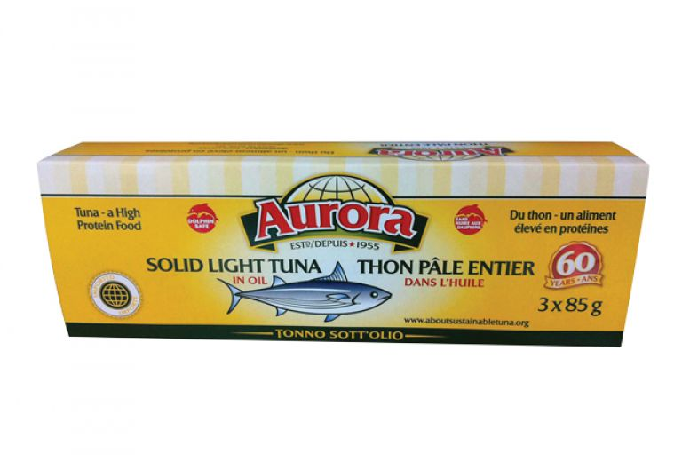 AURORA TUNA IN OIL 3 X 85GR