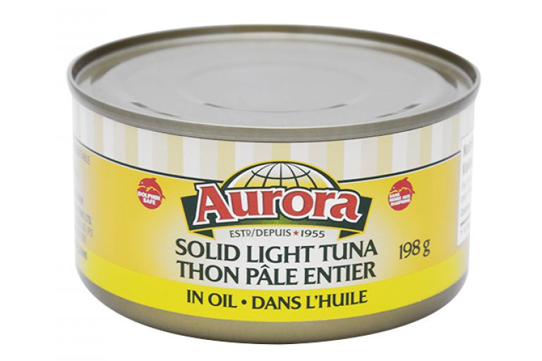 AURORA TUNA FISH IN OIL 198GR