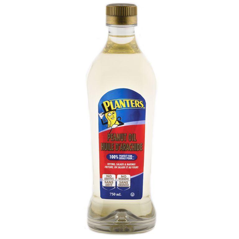 PLANTERS PEANUT OIL 750 ML