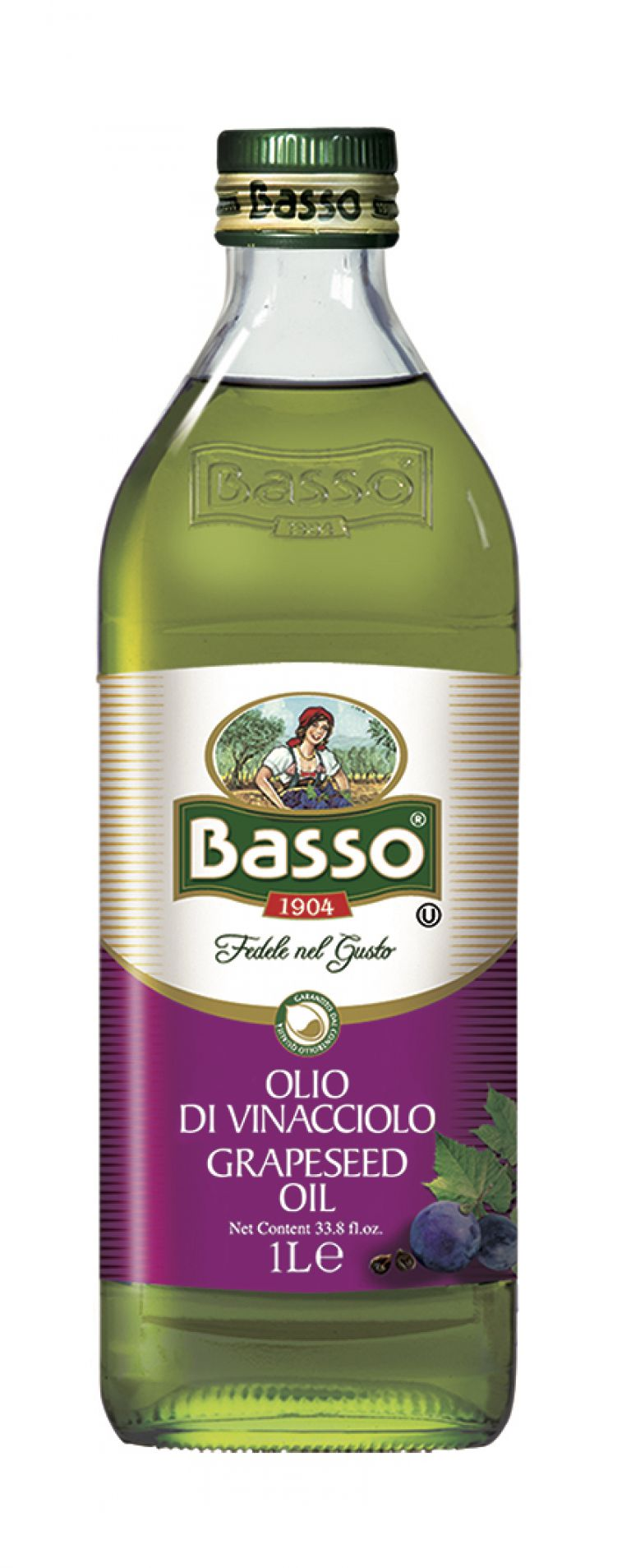 BASSO GRAPESEED OIL 1LT