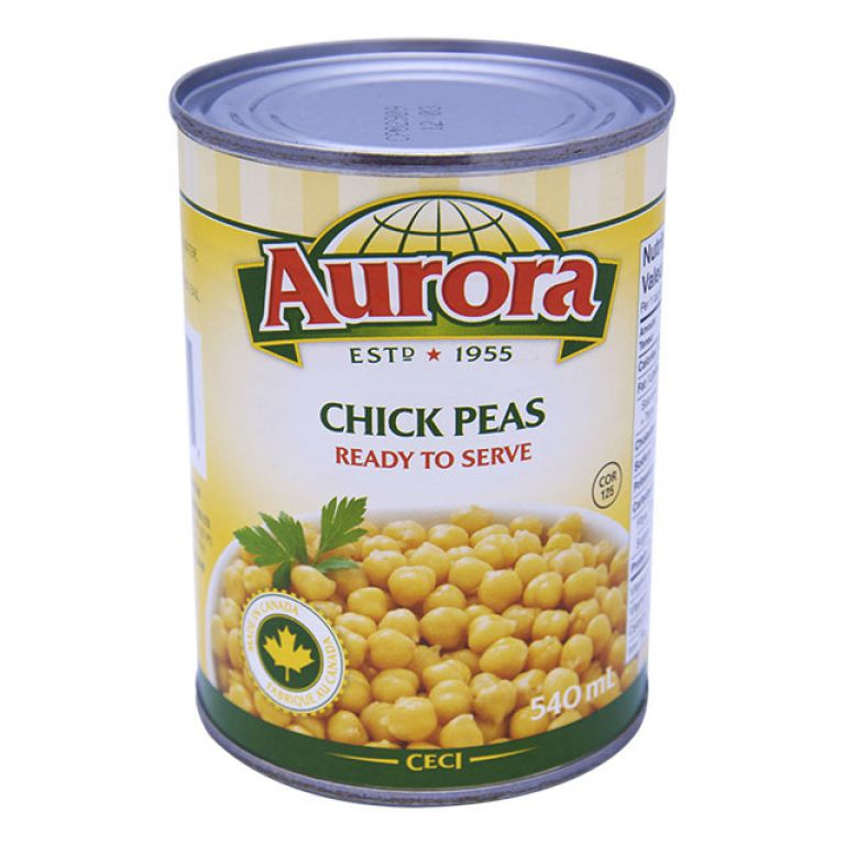 AURORA BEANS-CHICK PEAS 540ML