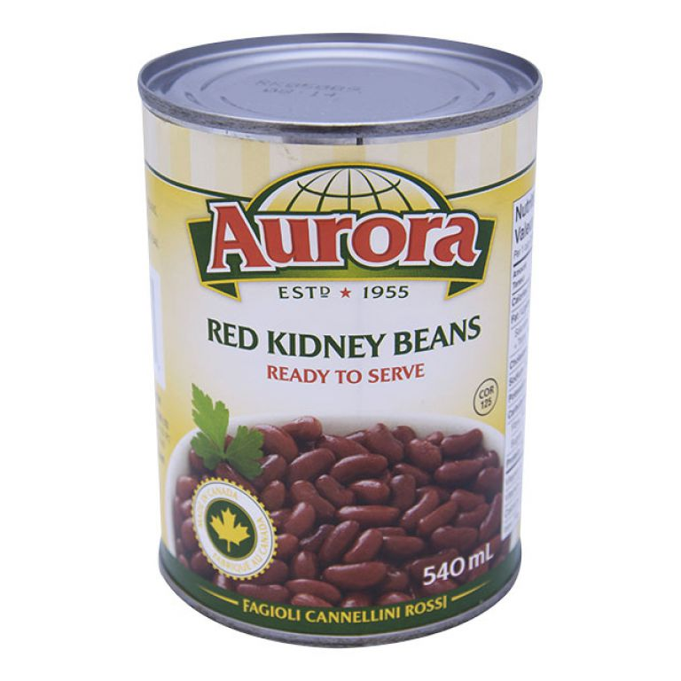 AURORA BEANS-KIDNEY RED 540ML