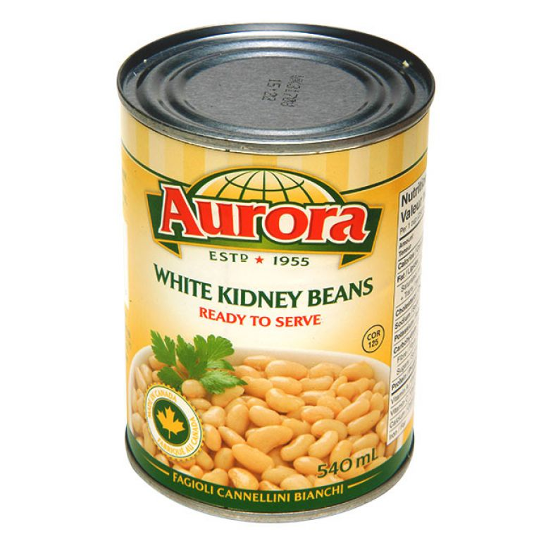 AURORA BEANS-KIDNEY WHITE 540ML