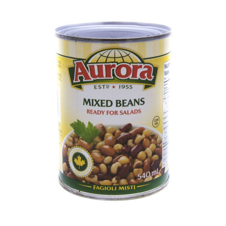 AURORA BEANS-MIXED BEAN 540ML