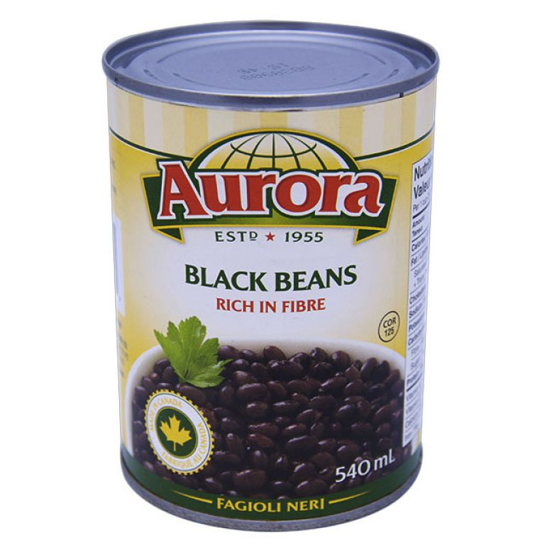 AURORA BEANS-BLACK BEAN 540ML