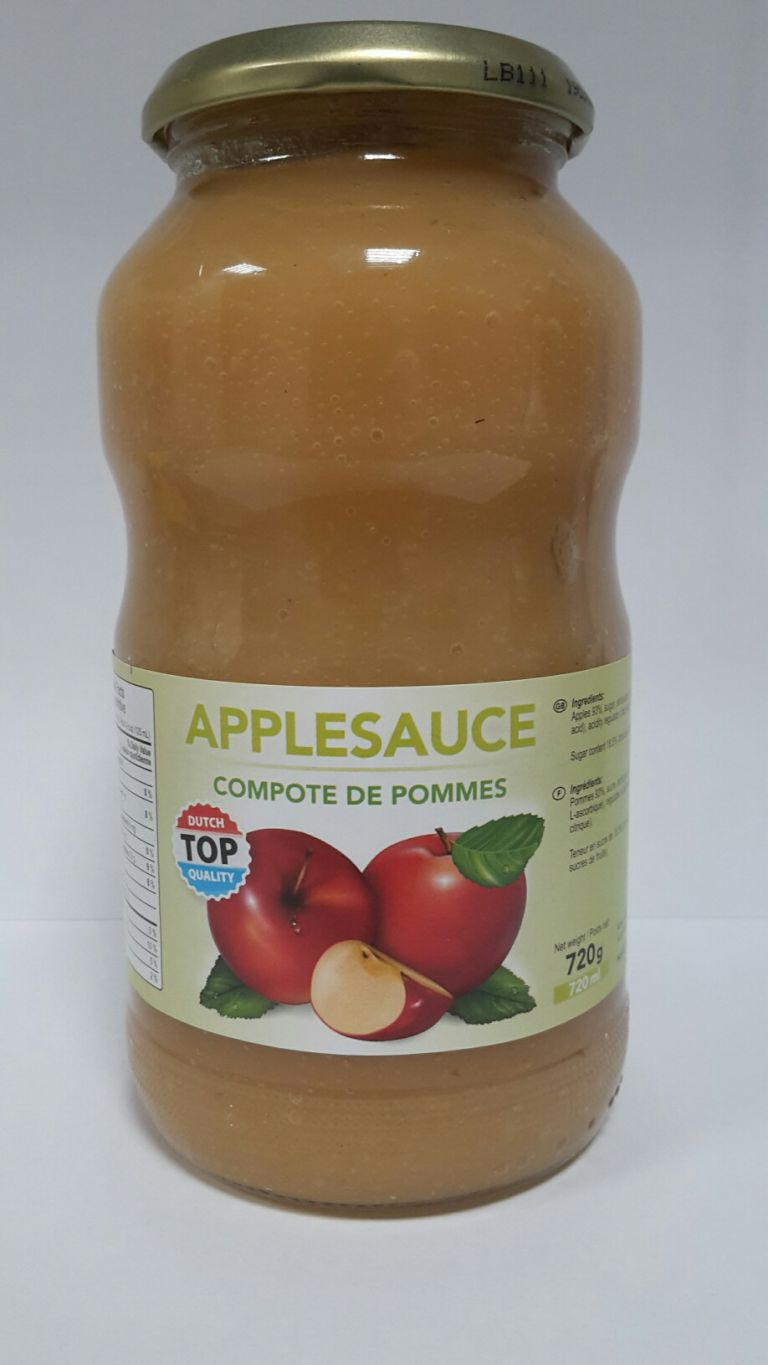 TOP QUALITY DUTCH APPLE SAUCE 720ML