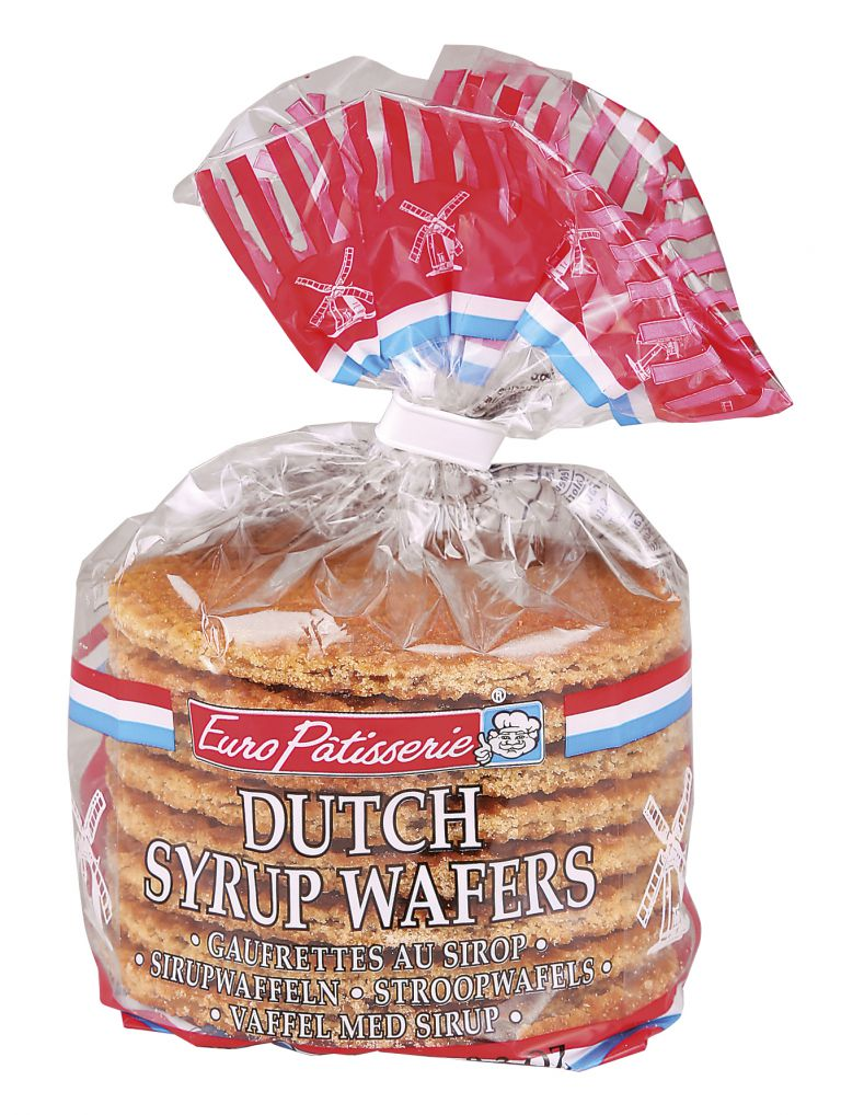EURO PATISS DUTCH SYRUP WAFER 250G
