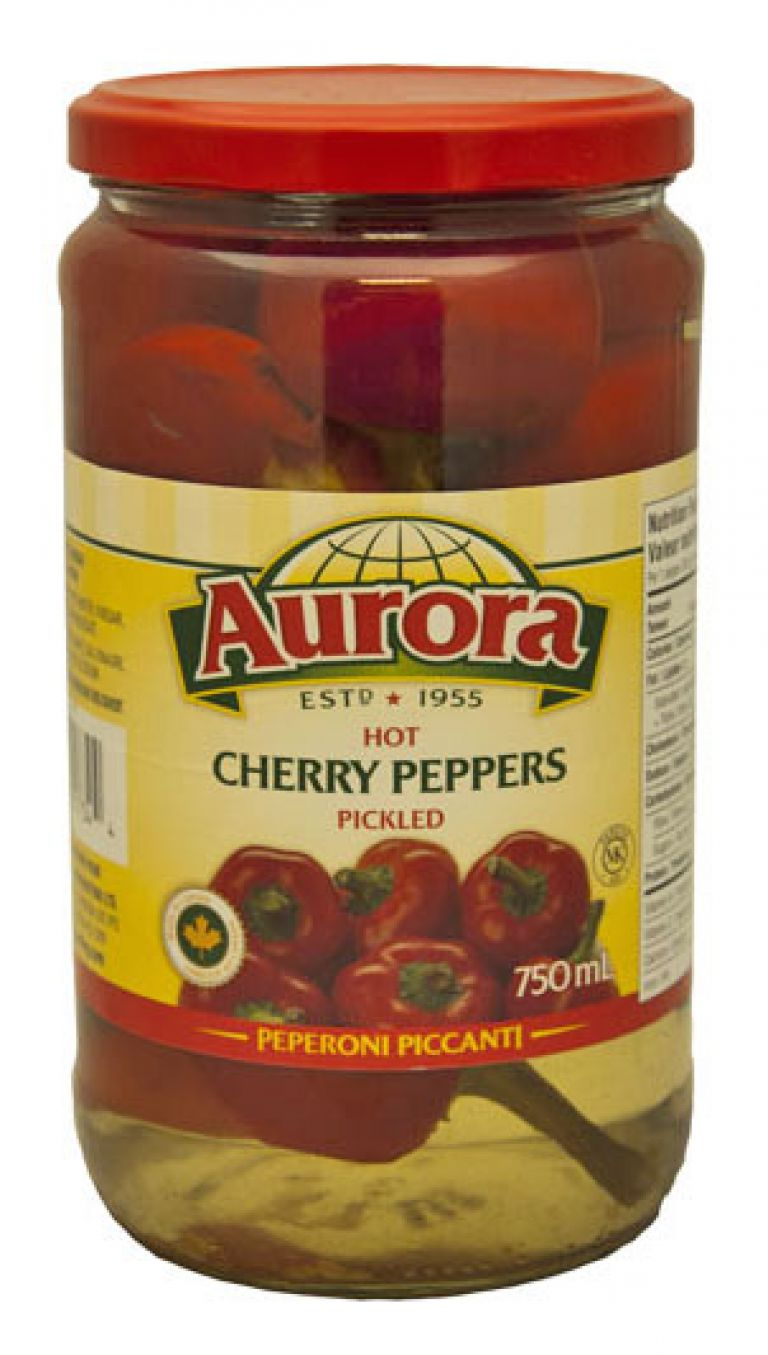 AURORA CHERRY PEPPERS 750ML