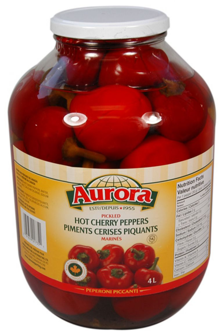 AURORA CHERRY PEPPERS 4LT