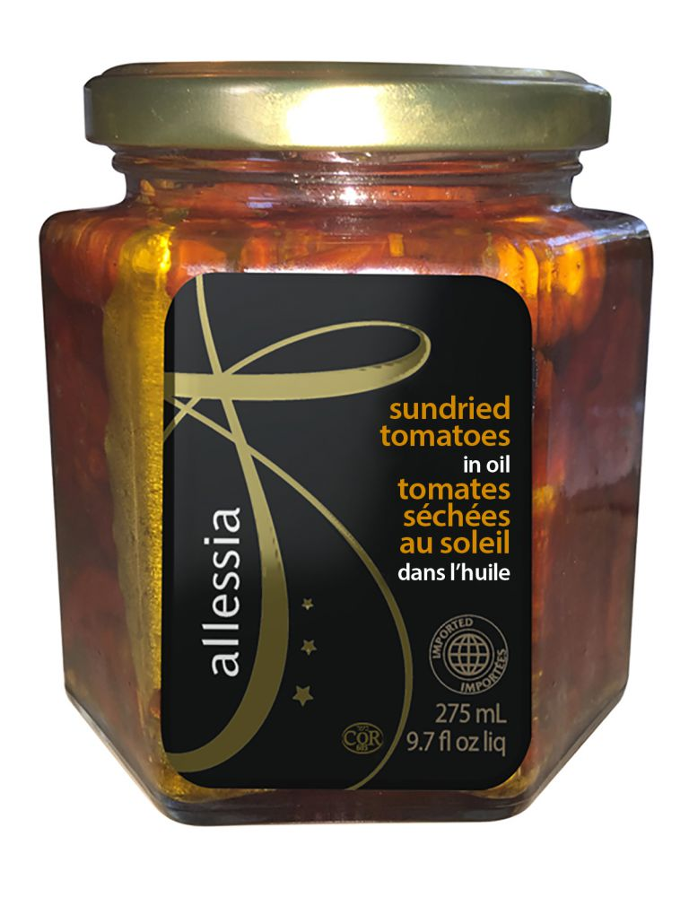 ALLESSIA SUNDRIED TOMATOES 275ML