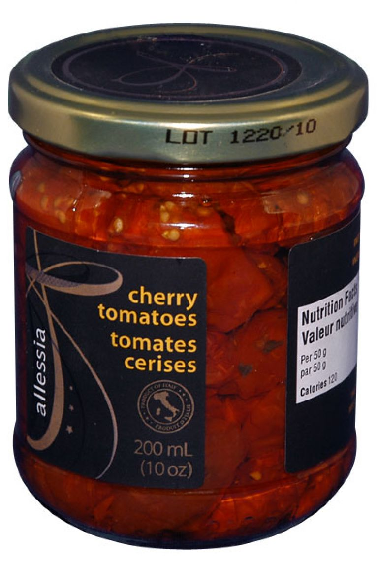 ALLESSIA CHERRY TOMATOES SD 200ML
