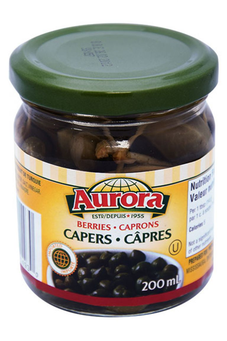AURORA CAPER BERRIES 200ML