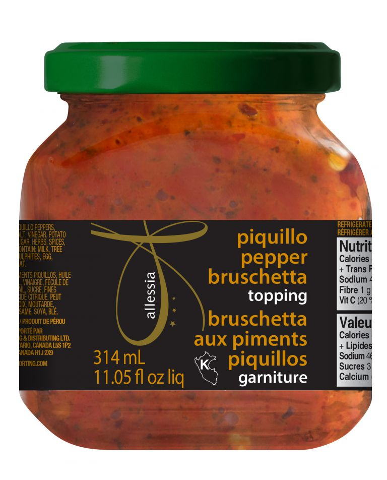 ALLESSIA PIQUILLO BRUSCHETTA 314ML