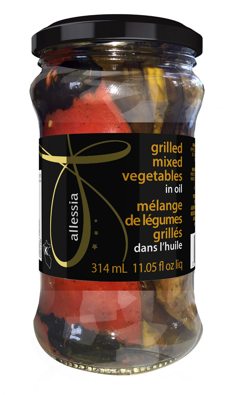 ALLESSIA GRILLED VEG IN OIL 314 ML