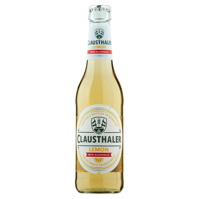 CLAUSTHALER NA BEER LEMON 330ML