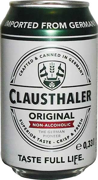 CLAUSTHALER NA BEER CL PREM 4X330ML