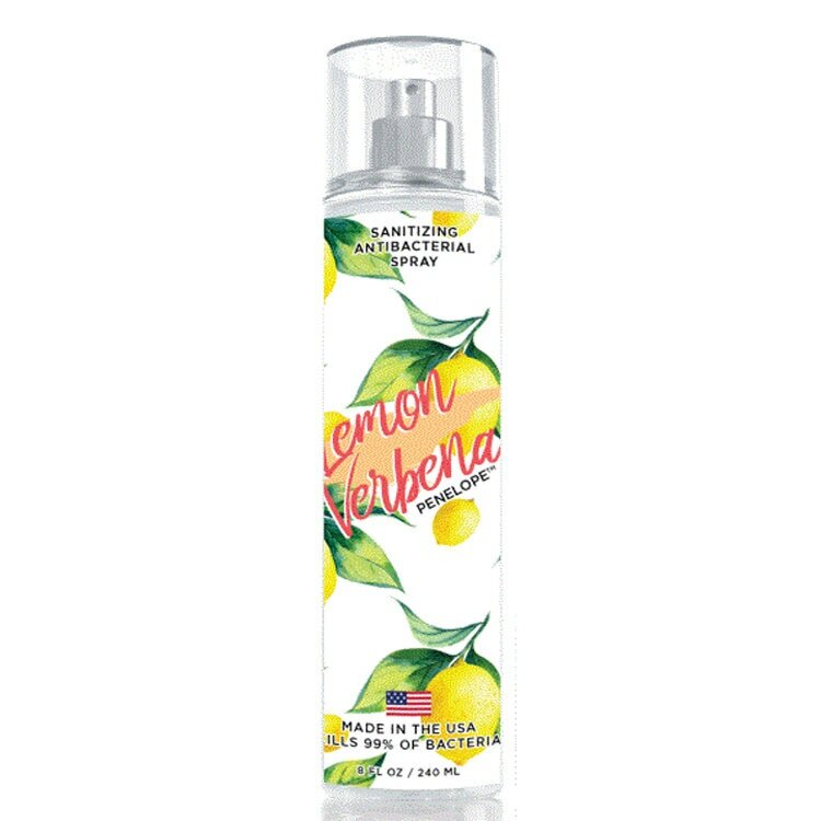Lemon Verbena Sanitizing Antibacterial Spray 240 ml