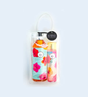 MAUI BEACH 2 PC BODYMIST & SHOWER GEL BAG SET