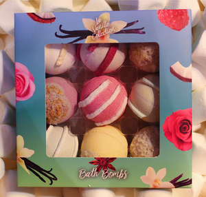 Load image into Gallery viewer, Vanilla Truffle Bath Bomb Set