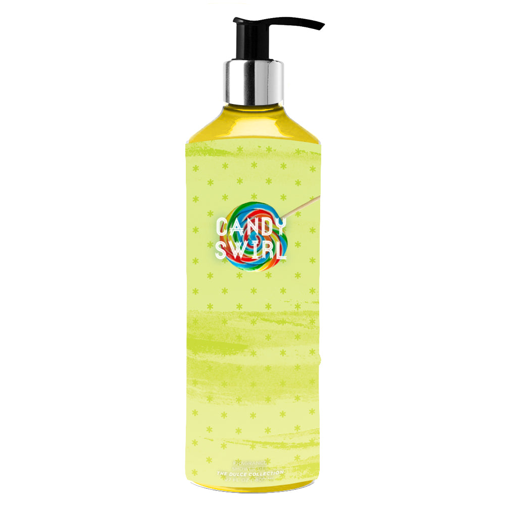 Load image into Gallery viewer, Candy Swirl Shower Gel