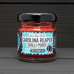 Bad Boy Chilli Carolina Reaper Chilli Puree x6 <br>Unit Price: £7 - Bezar