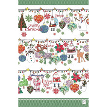 Load image into Gallery viewer, Merrily on High | Tea towel - Bezar