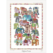 Load image into Gallery viewer, Elephant Parade | Art Print - Bezar