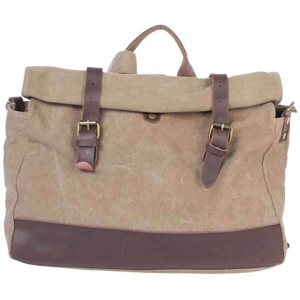 SAINT MICHEL: Shoulder bag - beige Khaki