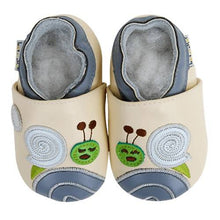 Load image into Gallery viewer, Soft Leather Baby Shoes - Snail Dodo