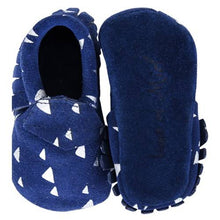 Load image into Gallery viewer, Baby Suede Moccasins Navy