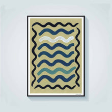 Load image into Gallery viewer, Waves Art Print