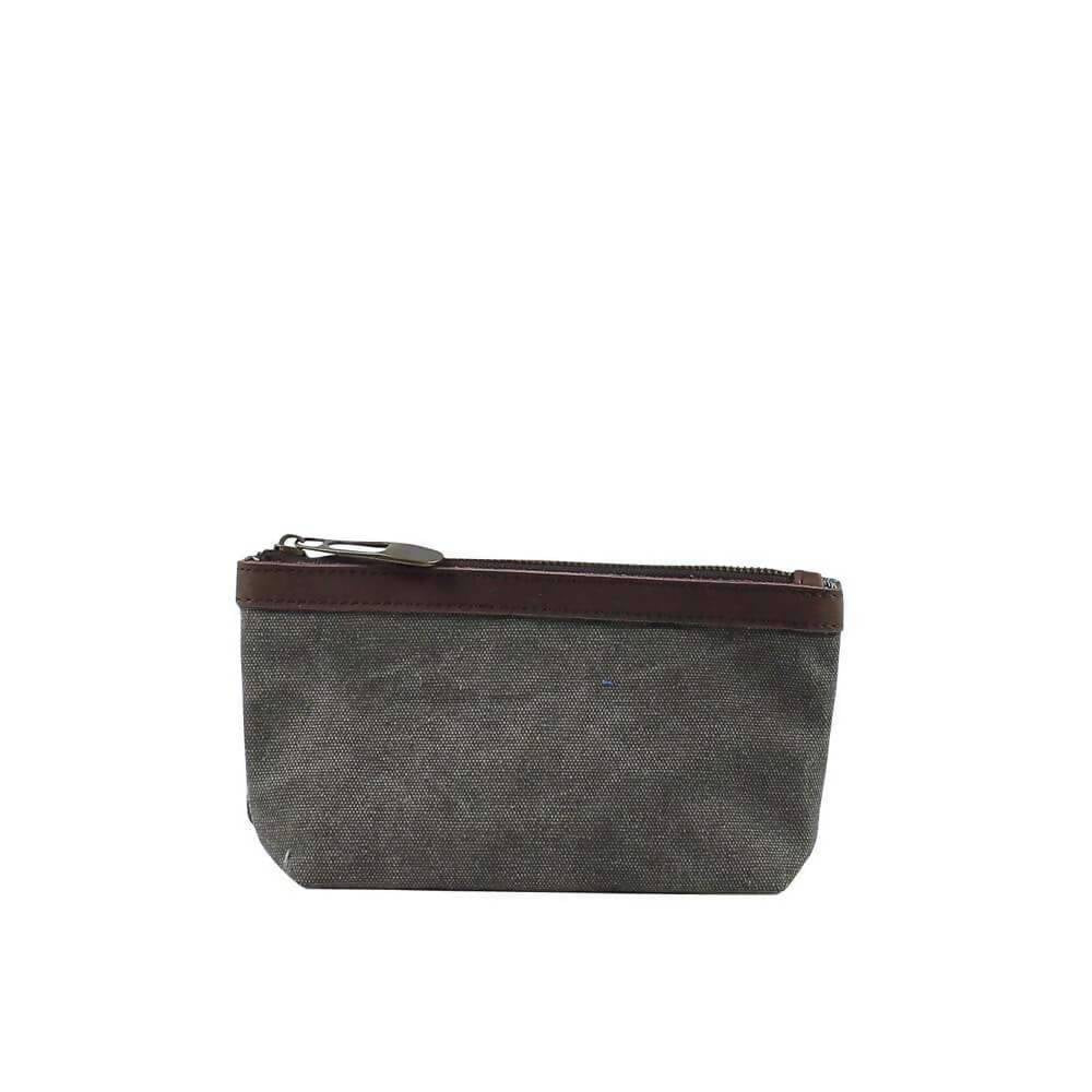 TROCADERO (SMALL): Pencil case - Grey