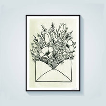 Load image into Gallery viewer, Flower Delivery Art Print
