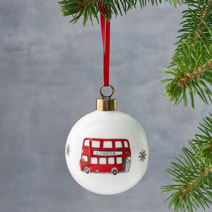 Simply London Bus Bauble - Bezar