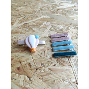 HOT AIR BALLOON OMBRE: Hair Clip
