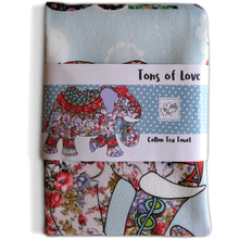 Load image into Gallery viewer, Tons of Love | Tea towel - Bezar