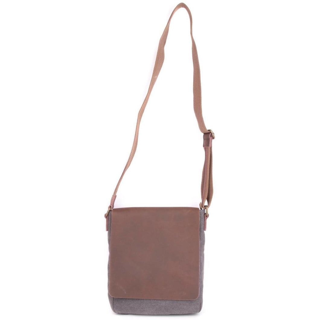 JAURES: Shoulder bag - Grey