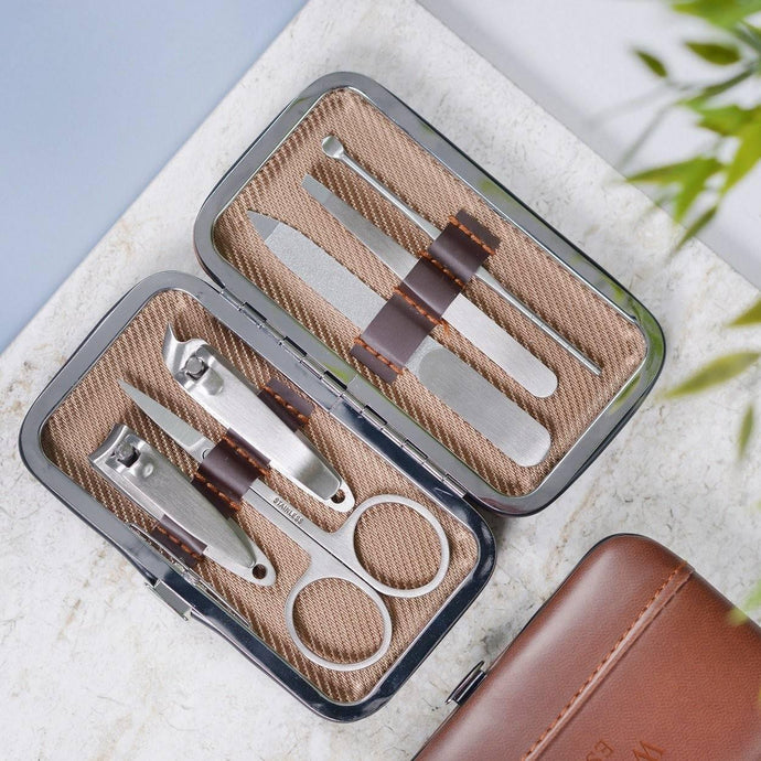 Manicure Kit - Brown, mini - Bezar