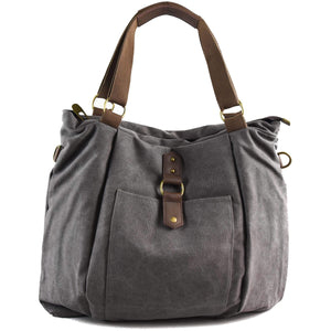 CAMBRONNE: Tote bag - Grey