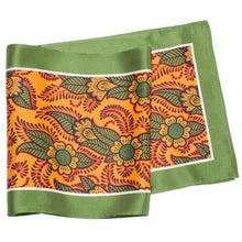 Load image into Gallery viewer, Skinny Silk Scarf - Orange Henna