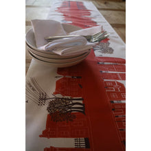 Load image into Gallery viewer, On the Street Crimson | Table Runner - Bezar
