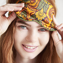 Load image into Gallery viewer, Silk Eye Mask - Orange Henna